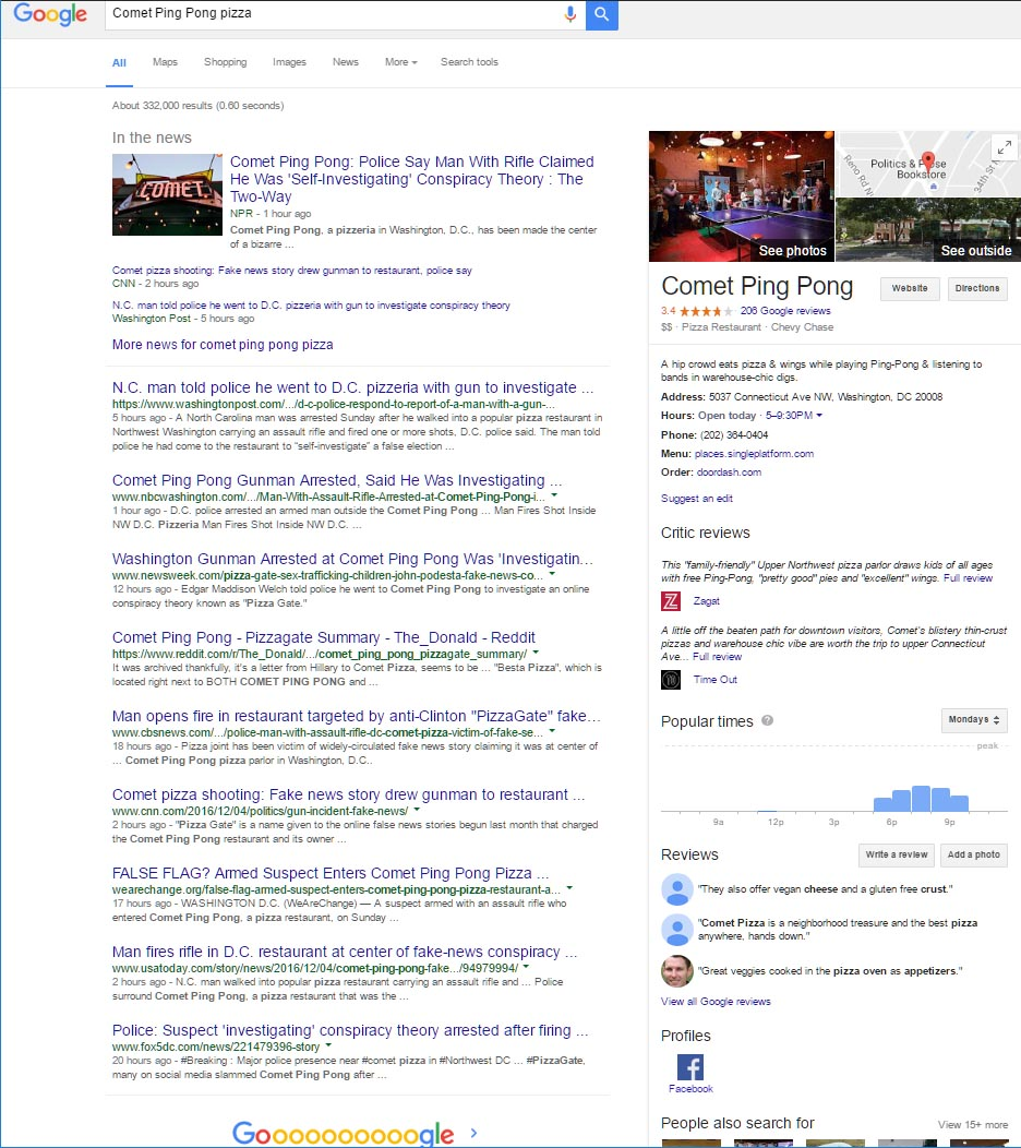 How Fake News Can Hurt a Businesses Online Reputation Google Results, Recover Reputation